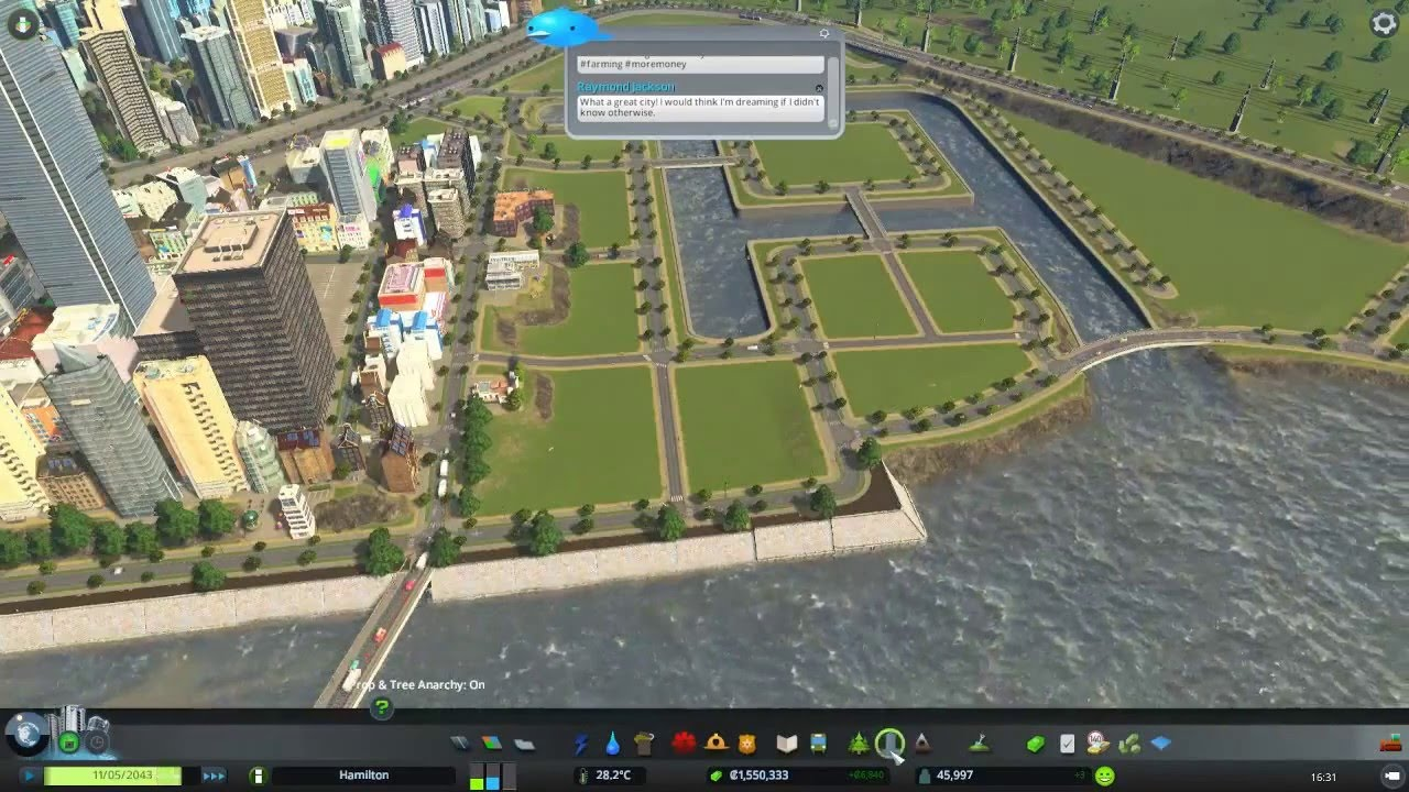 how to build canals cities skylines