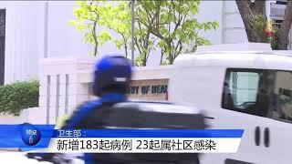 【冠状病毒19】本地新增183起病例 23起为社区病例