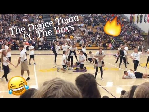 THE MOST LIT PEP RALLY! 🔥