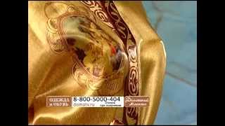 Женский халат «Ангелочки»(Роскошный дамский халат «Ангелочки», выполненный из тонкого и струящегося по телу шелка, откроет для вас..., 2013-02-26T15:04:38.000Z)