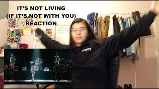 THE 1975 - IT'S NOT LIVING (IF IT'S NOT WITH YOU) MUSIC VIDEO REACTION
