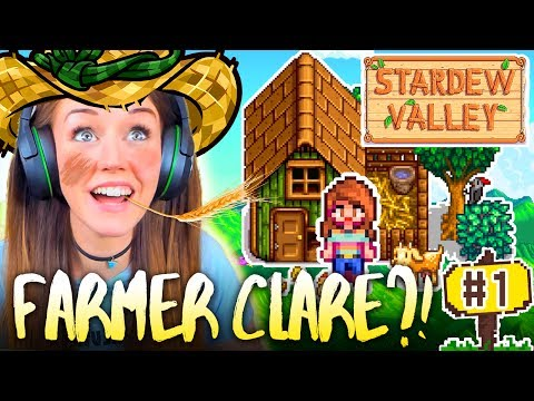 👩�🌾BECOMING FARMER CLARE!� - (Stardew Valley #1!🚜) ✨NEW SERIES✨