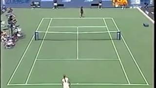 Serena Williams vs Jelena Dokic 2000 US Open 1/7