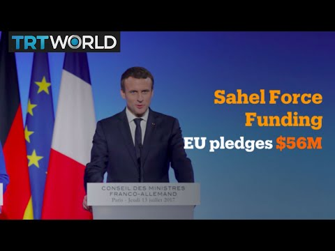 Money Talks: France seeks defence funding for West Africa