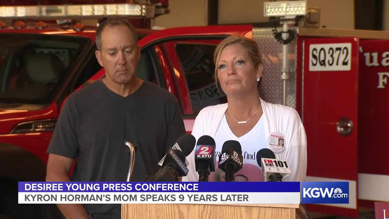 We're looking in key areas': Kyron Horman's mother says search area