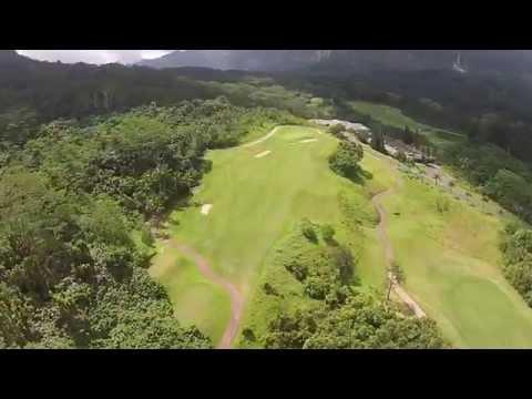 Royal Hawaiian Aerial Video Hawaii Tee Times