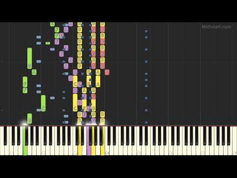 Valens Ritchie - La Bamba (Instrumental Tutorial) [Synthesia]