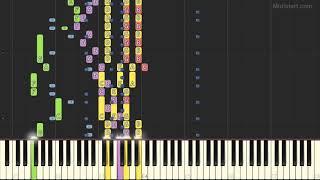 Valens Ritchie - La Bamba (Instrumental Tutorial) [Synthesia]