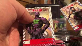 2018 Upper Deck Marvel Annual Box Break and Review