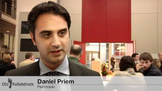 Daniel Priem, Palmtrade beim Symposium - Alternativen zum Konsumverzicht?