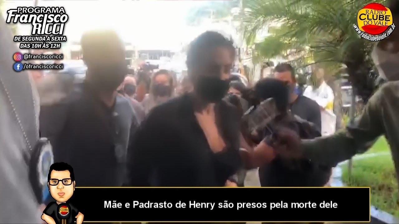 Mãe e Padrasto de Henry são presos pela morte dele