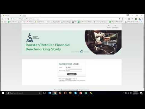 Tutorial: SCA Roaster/Retailer Benchmarking Study