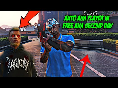 I Spent A Second Day In Free Aim Lobby On GTA 5 Online