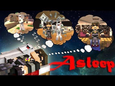 Minecraft Custom Adventure Map : ASLEEP! /w Facecam!