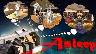 Minecraft Custom Adventure Map : ASLEEP! /w Facecam!