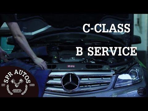 S.P.R Autos - Mercedes C Class B Service