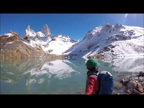 Hiking Mt. Fitz Roy, El Chanten, Argentina/Chile, Patagonia 3/2018