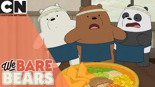 We Bare Bears | The Perfect Ramen | Cartoon Network UK
