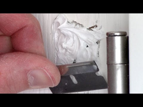How to Patch a Hole in a hollow core Door - Fix & Repair