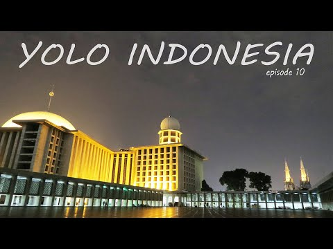 Istiqlal Mosque [FIRST Time in a Mosque EVER!!!] | YOLO INDONESIA Episode 10