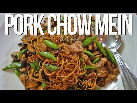 Recipe for pork chow mein easy