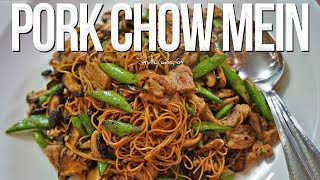 Easy Pork Chow Mein | SAM THE COOKING GUY recipe