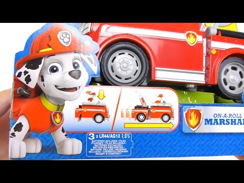 PAW Patrol Diving Bell & Fire Truck Marshall fun toys