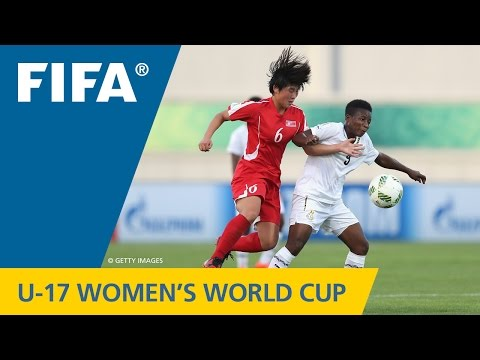 Match 27: Korea DPR v Ghana - FIFA Women's U17 World Cup Jordan 2016