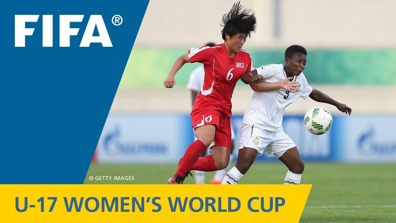 Match 27: Korea DPR v Ghana - FIFA Women's U17 World Cup Jordan 2016