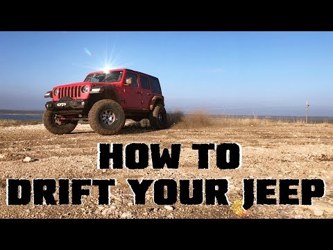 How To Drift Your Jeep Wrangler JLU Rubicon Using the Tazer JL