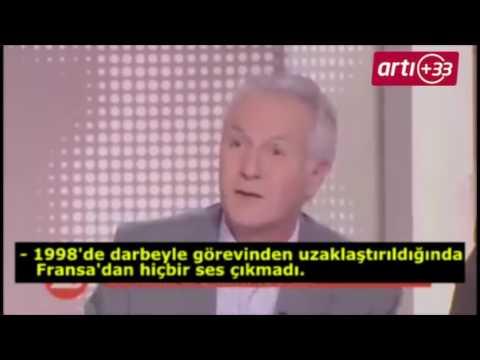 Ünlü Fransız gazeteci ARTE'de patladı: Türkiye'yi böyle aşağılayamazsınız! İşte o müthiş konuşma
