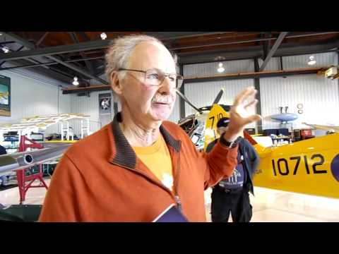 VIP Hangar Tour At Vintage Wings Of Canada (Gatineau)