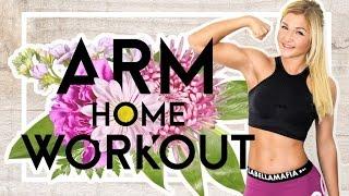 ♥ Homeworkout für straffe Arme zum Mitmachen! ♥ Zuhause trainieren wie im Gym | Sophia Thiel