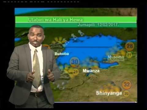 Tanzania Weather Forecast  11/02/2017
