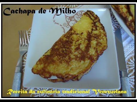 Cachapas de Milho Venezuelanas Receita fácil