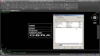Crear Bloques con Atributos en AutoCAD 2016