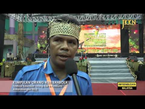 Festival Orang Asli Dan Peribumi : Bahbola