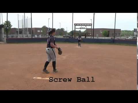 Alyssa Arden 2018 P Softball Skills Video
