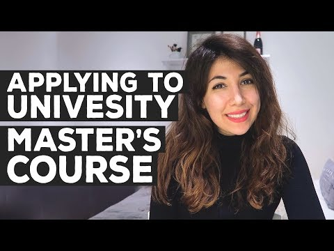 How to Apply to University for a Master's Course | Postgraduate | Atousa