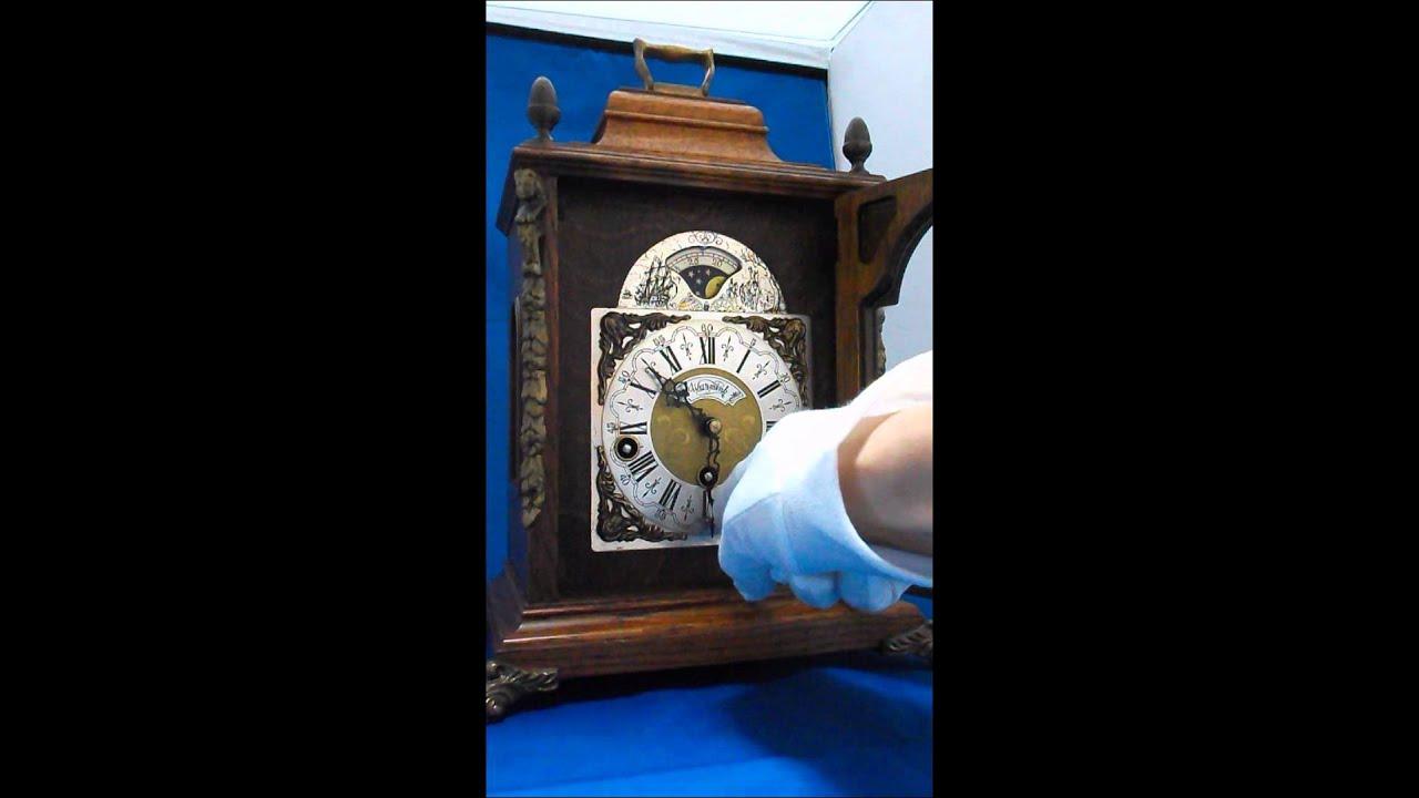 オランダ製アンティーク置時計 Warmink Wuba Youtube
