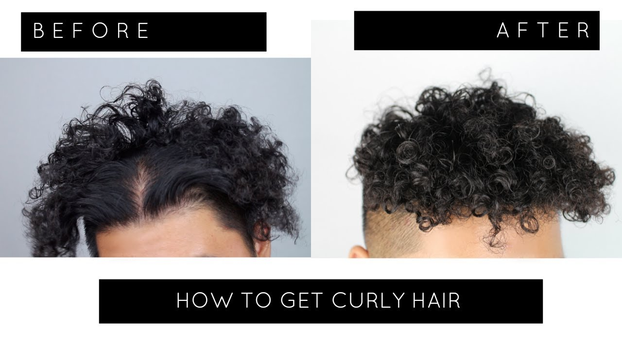 How To Perm Your Hair At Home Curly Hair Tutorial Tight Curls