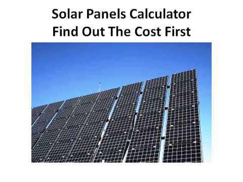 Caravan Solar Panels | Solar Hot Water Panels | Solar Power Information | How Much