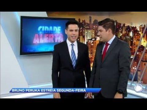 Não perca a estreia de Bruno Peruka nas manhãs da Record TV nesta segunda (5)