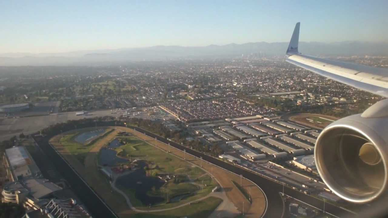 American Airlines 757 Dca Lax Take Off And Landing Youtube