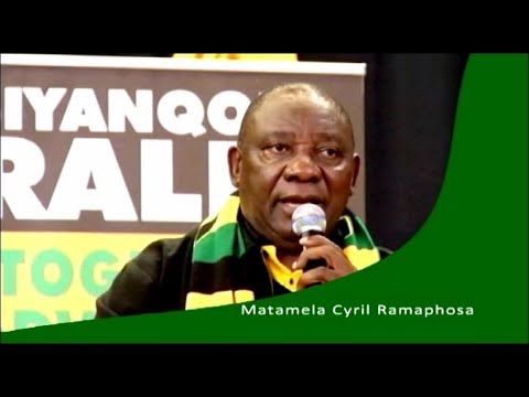 Race to ANC December Conference: Cyril Ramaphosa
