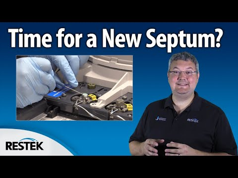 Replacing the Septum in Your GC Inlet