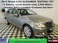 2011 (61) Mercedes-Benz C Class 1.8 C180 BlueEFFICIENCY Elegance Edition 125 5dr Auto ESTATE