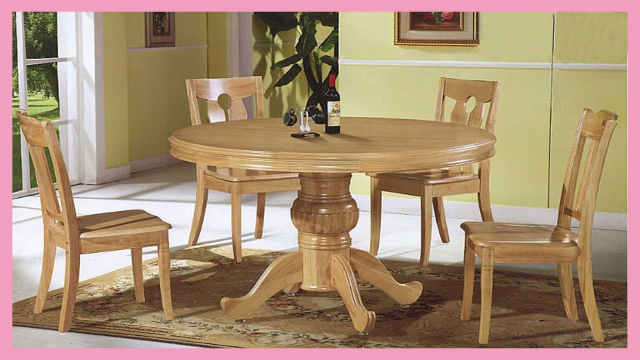 Most Simple Dining Table Designs For Small Family Youtube