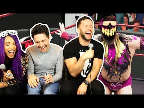 WWE 2K18 w/ Sasha Banks & Finn Balor - Finn Balor unleashes the Demon Boss