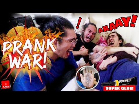 EXTREME SUPER GLUE ON PUBIC HAIR PRANK | PRANK WAR